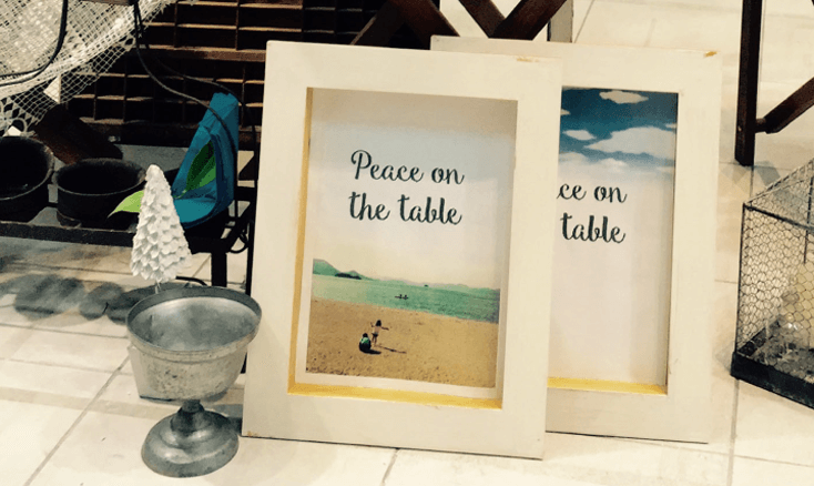 Peace on the table プロフィール
